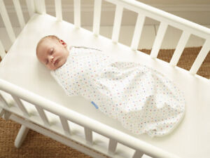Grosnug 2in1 Swaddle and grobag for newborns