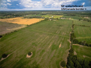 46 acres workable farm land and building lot Netherby Rd Niagara