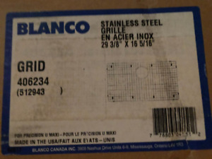 NEW IN BOX: 2Blanco Sink Grids:1xlarge and 1 med size