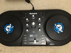 Numark iDJLive - DJ System for iPad, iPhone or iPod Touch