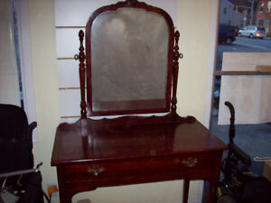 ANTIQUE VANITY MADE IN WOODSTOCK ONTARIO 1800'S