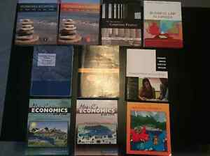 Brock University Textbooks: ECON, ITIS, ACTG, FNCE, and more