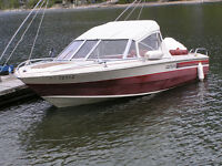 1980 LARSON WITH 140 HP JOHNSON OB