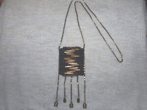 Amulet pouch necklace