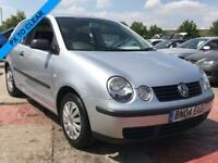 2004 VW POLO S 1.2 PART SERVICE HISTORY 3DR 54 BHP