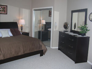 Executive Riverfront Condo Fort Saskatchewan - Fully Furnished