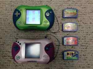 Two Leap Frog Leapster 2 + Games