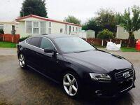 Audi A5 S Line in Black