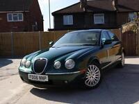 2006 Jaguar S-Type 2.7 Turbo Diesel SE 6 Speed Auto Sat Nav Full Leather Climate