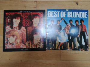The Church & Best of Blondie records\albums