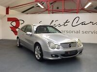 MERCEDES C220CDI SE AUTO SPORTS COUPE [FULL SERVICE HISTORY / STUNNING EXAMPLE / FANTASTIC SPEC]
