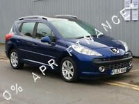 2007 PEUGEOT 207 1.6 HDi 110 Sport 5dr 2yrs free credit offer