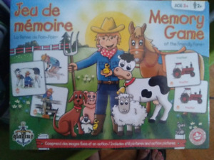 memory game (farm animals)