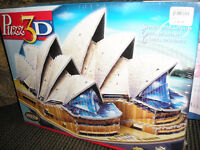 Two  3-D Puzzles for Sale- unopenned in plastic $15.00 each