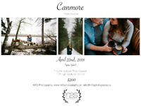 CANMORE MINI COUPLE PHOTO SESSION