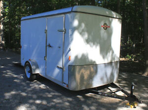 2011 Carry-On 6 X 12 Enclosed Trailer