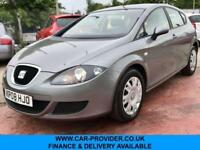 2008 SEAT LEON REFERENCE 1.6 PETROL 5DR 101 BHP