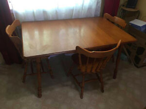 Dining Table w/ 3 Chairs