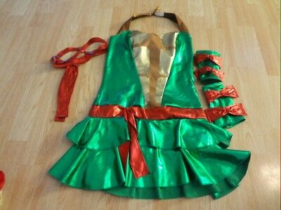 Women's Sexy TMNT Turtle Red Halloween Costume M(8/10)