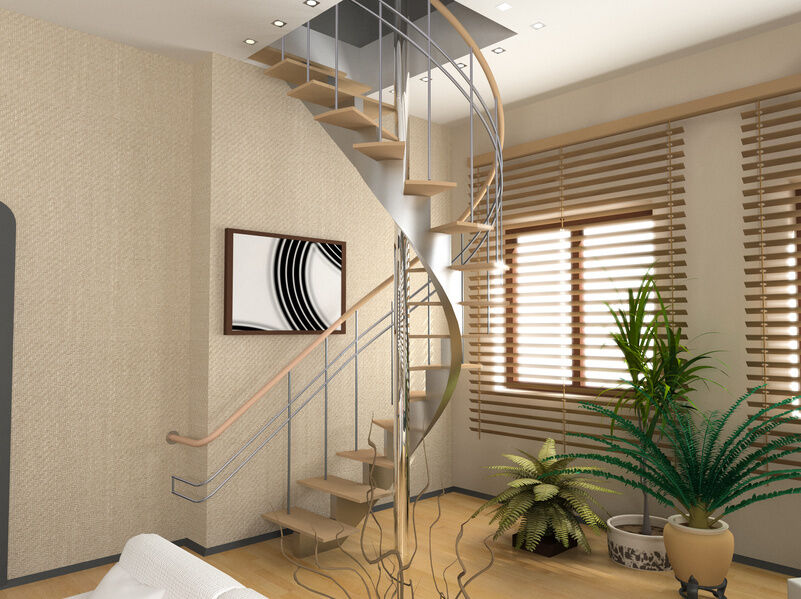 loft conversion stair designs - How to Install an Attic Ladder