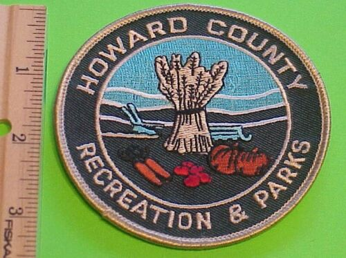HOWARD COUNTY RECREATION & PARKS PATCH  NEW FREE SHIPPING !!!