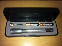 Brand new Still in box Very well known outdoor flashlight Aluminum body Made in the USA