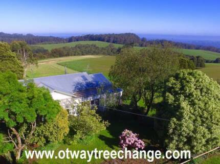 Otway Tree Change to Beech Forest - 10 Acres + 3 bedroom home
