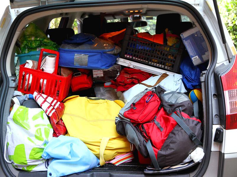 Packtipps für den Urlaub: So nutze ich die gesamte Fläche des Kofferraums aus?