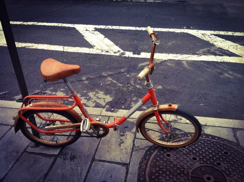 Your Guide to Painting Your Bicycle Orange