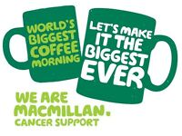 Livingston's biggest MACMILLAN coffee morning