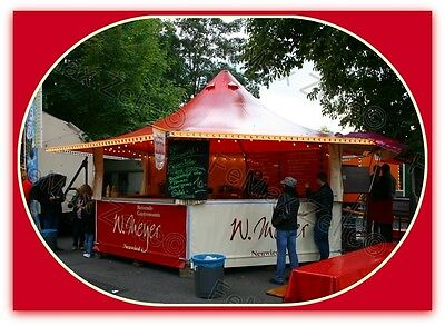 Verkaufsstand Marktstand Imbiss Grill...23,4m² / Rundumtheke