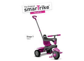 ORIGINAL SMARTRIKE 3 IN 1 BREEZE (PINK) SMART TRIKE