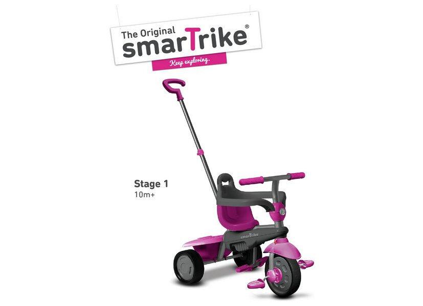 ORIGINAL SMARTRIKE 3 IN 1 BREEZE (PINK) SMART TRIKE