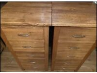 Fantastic Brooklyn Oak Tall Boy/s Chest of Drawers, great quality and condition, can deliver