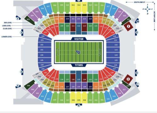 Buffalo Bills Vs. Tennessee Titans MNF 2 Tickets - $525.00