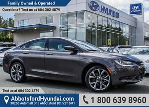 2016 Chrysler 200 S TOP CONDITION CERTIFIED & ACCIDENT FREE