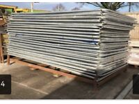 >>> USED <<< sets of heras fencing 3.45m