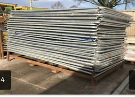 Sets of used heras fencing >>> 1 panels 2 clips 1 food