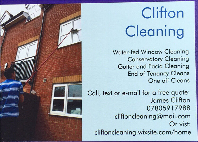 Clifton Cleaning - Window Cleaner