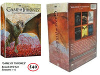 GAME OF THRONES - BOXED DVD SET - SEASONS 1-6