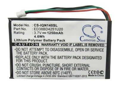 ED38BD4251U20 Battery for Garmin Nuvi 1400 1490T 1450T 1450 1490LMT 1490T Pro](garmin nuvi 1490 battery)