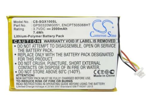 Premium Battery for SkyGolf SkyCaddie SGXw SGX-W SGX SGX GPS