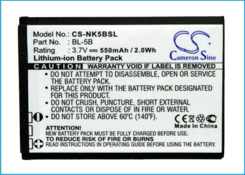 N5B80T BTA002 TB-521 Battery for Alcatel OT-S680  BLU Bar Q  iBaby Q9  Q9M  New