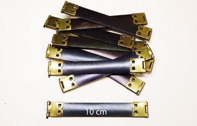 fermoir clic clac métallique etui à lunette porte monnaie bourse 100 mm