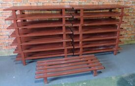 Metal Pallets Industrial Metal Bench - Lots Available