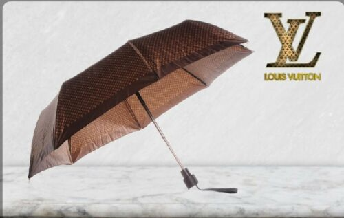 New Never Used LOUIS VUITTON Petite Compact Umbrella in Monogram Canvas