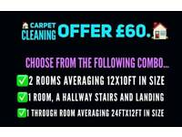 Carpet cleaning Xmas nw years offers