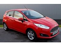 2015 65 FORD FIESTA 1.5 ZETEC TDCI 19K MILES DIESEL 5 DOOR HATCHBACK £0 TAX 1 OWNER FSH NOT CORSA