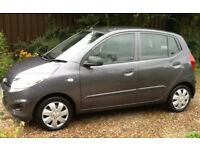 Hyundai i10 in excellent condition with no known faults very low mileage