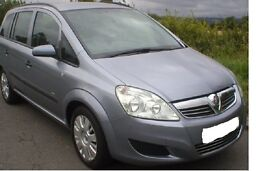 Vauxhall Zafira Full service History.....12 months M.O.T £2,695 or sensible offers
